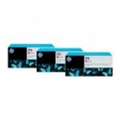 Pack 3 cartouches rouge chromatique HP 771 - 775 ml