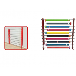 WallRack - 10 rouleaux