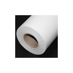 Rouleau textile polyester 100 g/m² - 1270 mm x 50 m