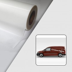Rouleau Film de lamination coulé brillant - Anti UV - 40µ - 1370 mm x 50 m