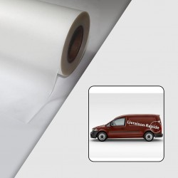 Rouleau Film de lamination coulé mat - Anti UV - 40µ - 1370 mm x 50 m