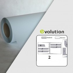 Rouleau calque polyester PPC 95µ - 0,900 x 100 m - Mandrin 3""