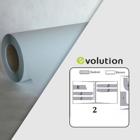 Rouleau calque polyester PPC 95µ - 0,914 x 50 m - Mandrin 3""