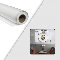 Rouleau papier photo brillant 190 g/m² - 0,914 x 30 m