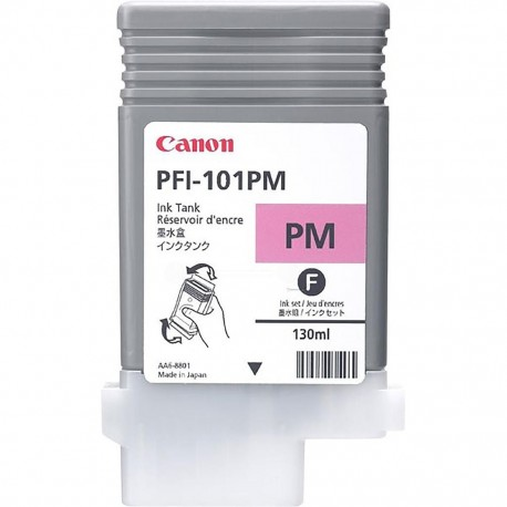 Cartouche d'encre Canon PFI-101PM - Magenta photo - 130 ml