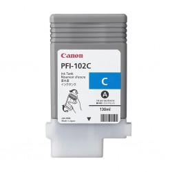 Cartouche d'encre Canon PFI-102C Cyan 130 ml