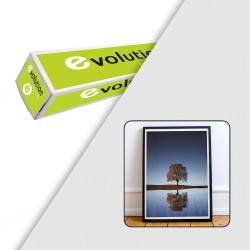 Rouleau papier photo satin 235g/m² - 1,370 x 30 m - EVOLUTION
